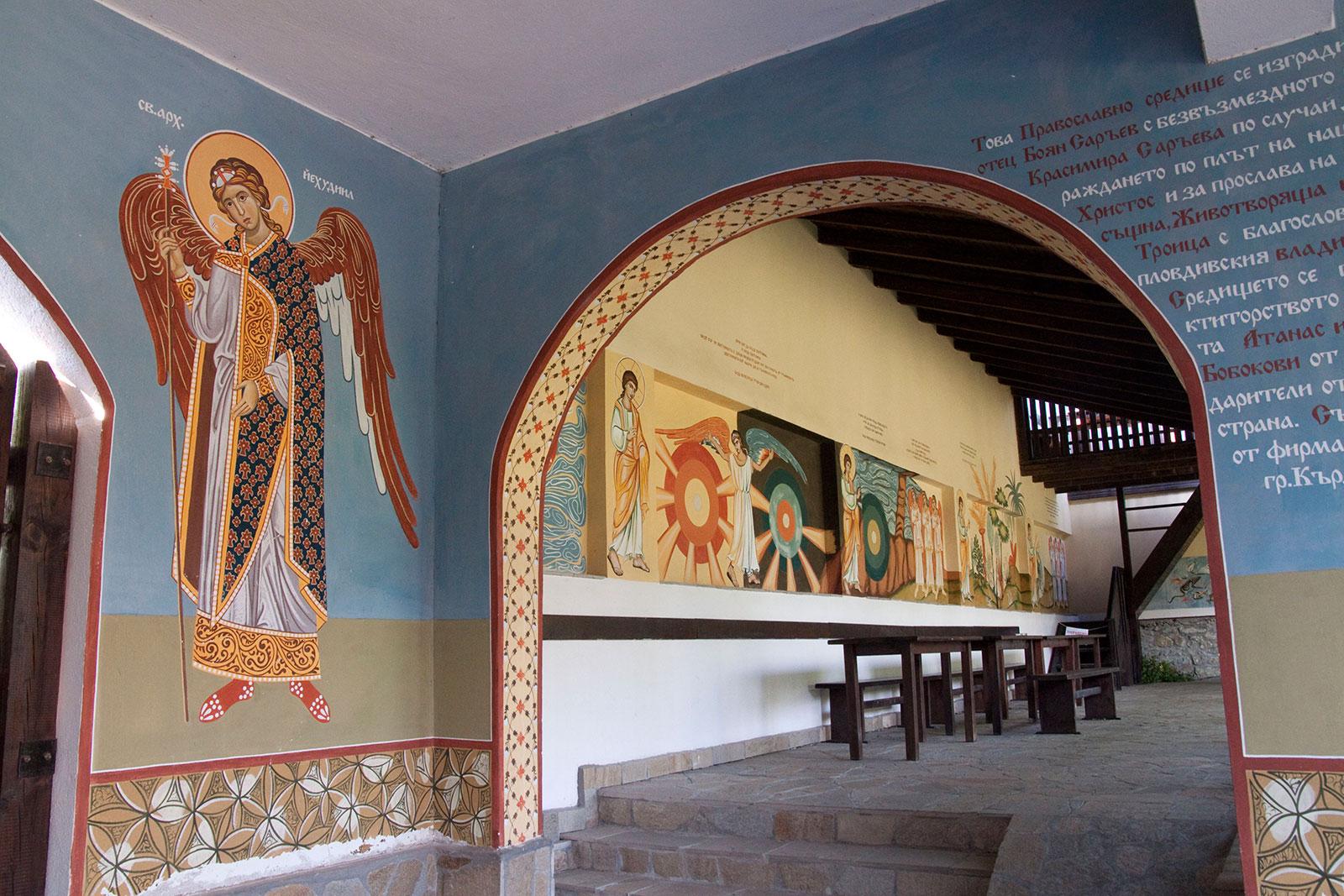 Стенописи на Успение Богородично в Кърджали