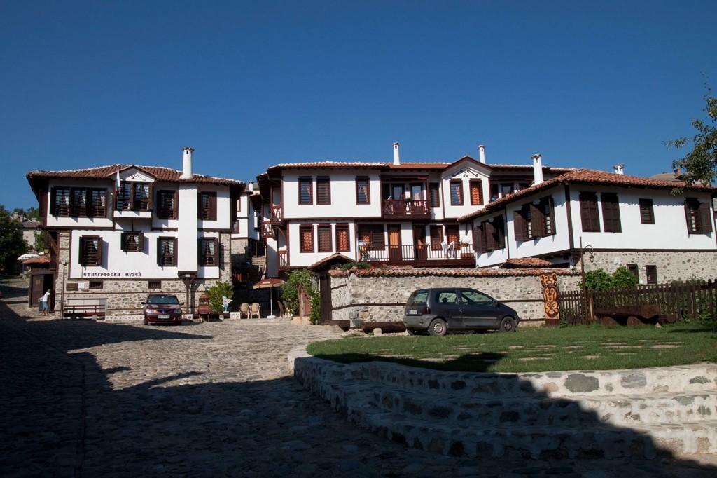 Изглед от етнографския комплекс в Златоград