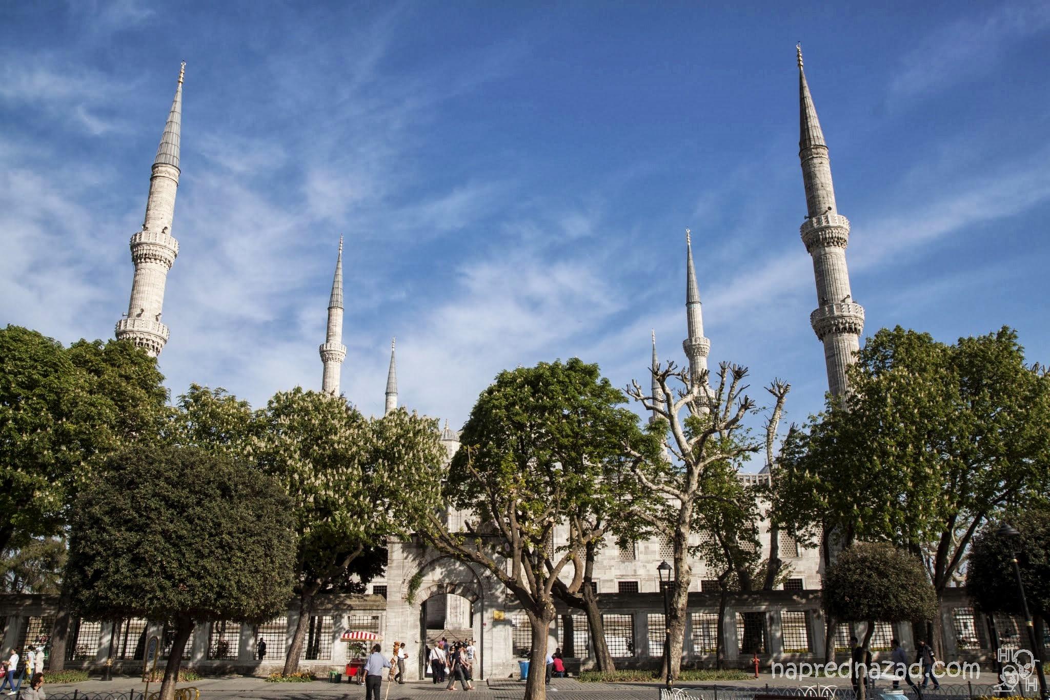 Минаретата на Синята джамия