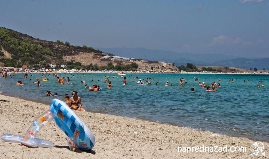 Плажа Ливрохио, Ситония
