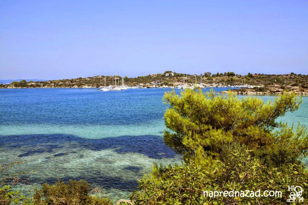 Ситония ни спечели със синьото море